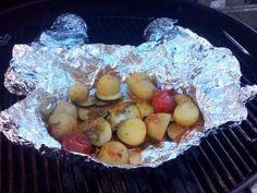 Jak na šťavnatou grilovanou zeleninu v alobalu Nasu, Potato Salad, Muffin, Eggs, Potatoes, Cheese, Breakfast, Ethnic Recipes, Food