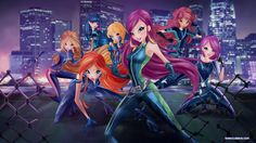 Spy Girls by WinxClubRus.deviantart.com on @DeviantArt
