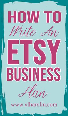 Interested in starting an Etsy business but don't know where to start? No worries! This post contains step-by-step directions to write an Etsy business plan that will make you look like a pro! Business Management, Business Planning, Business Tips, Online Business, Business Meme, Business Motivation, Business Website, Business Opportunities, Business Quotes
