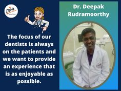 Dr. Deepak Rudramoorthy, Dentist in Bangalore practicing at diva Dental Care, wilson Garden, Bangalore, Karnataka India. Address: 305/16-1, 10th Cross Rd, Vinayaka Nagar, NGO Colony, Wilson Garden, Bengaluru, Karnataka 560027 Best Dentist, Dentist In, Dental Care, Clinic, Diva, Dental Caps, Dental Health, Divas, Godly Woman