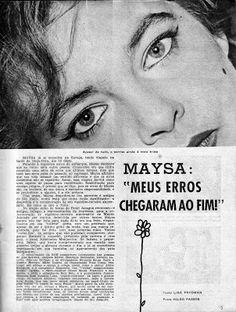 Maysa Monjardim Oficial: 1959  (Matéria publicada originalmente na revista RADIOLÂNDIA, em 1959)