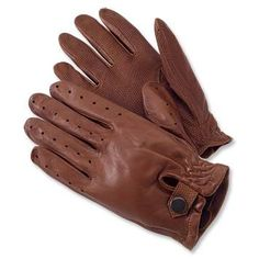 Lamb skin driving gloves