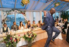 Bluffers Park Restaurant, Head table, Scarborough Bluffs Wedding #sweetheartempirephotography http://sweetheartempire.com/blog/images/scarborough-bluffs-wedding