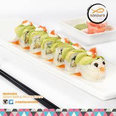 #Caterpillar yg satu ini punya rasa yg lezat loh kak! Yuk order Naniura Sushibar Restaurant Jakarta Timur 021-86611789 || Tag ur reviews #NaniuraSushi #Sushi #NaniuraMenu #DeliveryOrder #SushiLovers