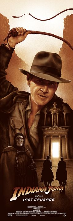 Indiana Jones & The Last Crusade by Adam Rabalais