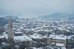 Bonorva sotto la neve