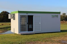 This luxury pod is fully insulated and can seat up to 20 people. Other features include wood-look floors, a sliding door, integrated burglar bars, magnetic walls, a white glass board, wall and floor plugs, dimmable lights and more!   #topshellcontainers #officecontainer #shippingcontaineroffice #conferencepods #mobileconferenceroom #eventideas #mobilemeeting #onsiterentals Shipping Container Office, Burglar Bars, Self Storage Units, Luxury Office, Magnetic Wall, Storage Containers, Cape Town, Sliding Doors, Storage Solutions