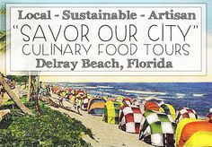 If you like food and history you must try one of the hit food tours in Delray Beach, Savor Our City™ Culinary Tours. These tours are historical walking food tours that. Waterfront Property, Palm Beach County, Delray Beach, South Florida, Wonderful Places, The Locals, Coastal, The Neighbourhood, Walking