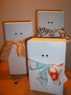 365 DAYS OF PINTEREST CREATIONS: day 315: snowmen for winter decor