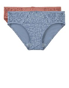 Ditsy Lace Inset Soft Touch Hi Legs 2 Pack   Woolworths.co.za Lace Inset, Ditsy, Lingerie Sleepwear, Bodysuit, Touch, Pure Products, Legs, Model, Clothes