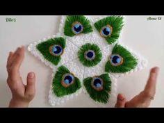 Tavuskuşu tüy modeli Tasarım 👉🏻Pıtırcık lif #2019lif #tüylif #kolaylif Crochet Flower Tutorial, Crochet Flower Patterns, Crochet Designs, Crochet Flowers, Knitting Patterns, Hand Work Embroidery, Flower Embroidery Designs, Crochet Feather, Laddu Gopal Dresses