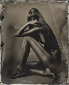 Photography by Igor Vasiliadis - Wet plate on blackened silver