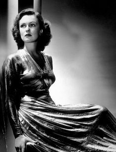 Geraldine Fitzgerald - Photo by George Hurrell (1948)