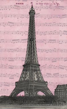Free Paris Printables | Perfect for crafty or artsy projects too!
