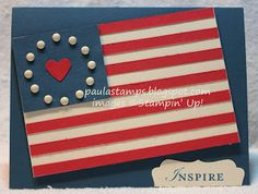 Stampin with Paula: Stampin Addicts Blog Hop: Farewell to Not Quite Navy