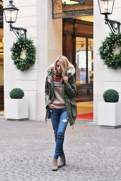 Look of the day – Tender Christmas Story  love it :)
