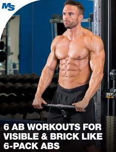 Looking to build your #abs so you can reveal a brick-like 6-pack when you lift up your shirt? Try any of these 6 ab workouts to get closer to that goal!