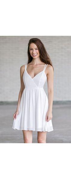 A line summer dresses eyelet