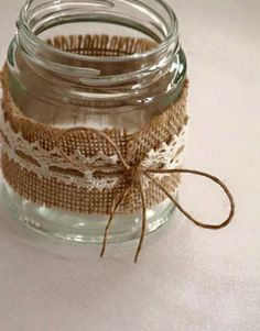 would make great tea light holders for a wedding in the evening