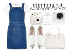 Wardrobe staples by mollie-simmonds on Polyvore featuring polyvore fashion style River Island Monki Miu Miu Prada philosophy Nikon Conair clothing