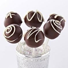 Ghirardelli Baking: Triple Chocolate Cake Pops Recipe Impressive Results Worth Sharing. Bake with Ghirardelli.