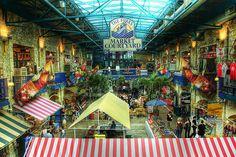 The Forks Market. Winnipeg, Manitoba, Canada.