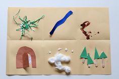 preschool map craft