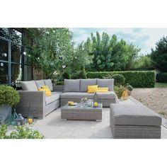 Salon De Jardin Resine Blanc Design _ salon de jardin d\'angle en ...