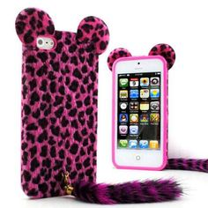 Superior Cute Soft Feather Tiger Leopard Skin Case with Tail for iPhone PLUS, Samsung edge note 4 5 Phones Cases 5s Cases, Phone Cases, Cheap Iphones, Skin Case, Iphone 5s, Feather, Samsung, 3d, Quill