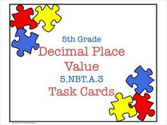 I can't wait to use these as a fun review activity for place value!  Sure beats another worksheet!
