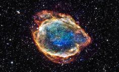 G299-supernova, Chandra-telescope. (NASA/CXC/U.TEXAS)