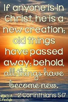 2 Corinthians 5:17 facebook.com/donttakethemark