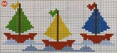 This Pin was discovered by Kzb Cross Stitch Sea, Cross Stitch For Kids, Cross Stitch Charts, Cross Stitch Designs, Cross Stitch Patterns, Cross Stitching, Cross Stitch Embroidery, Broderie Simple, Cross Stitch Pictures