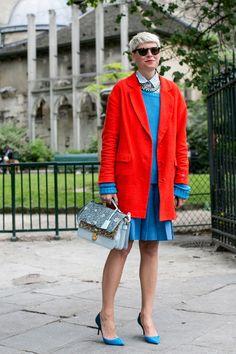 Elisa Nalin it in red. Superb.