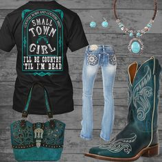 Small Town Girl Outfit - Real Country Ladies