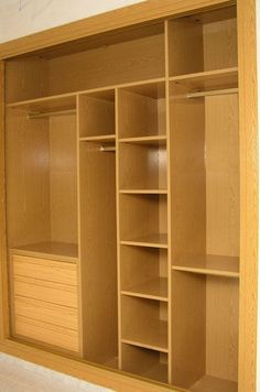 closet systems, storage and organization options. Customize your closet storage with shelves and bins and get expert advice for storage solutions. Wardrobe Design Bedroom, Bedroom Cupboard Designs, Bedroom Cupboards, Wardrobe Closet, Closet Bedroom, Home Room Design, Interior Design Living Room, Closet Layout, Wardrobe Cabinets
