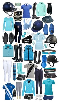 """""""SO BLUE"""" by equestrianfashionofficial ❤ liked on Polyvore featuring Tory Burch, Tommy Hilfiger, Hunter, Kate Spade, Ariat, Anna Field, 1&20 Blackbirds, Tiffany & Co., Queen of the Green and The North Face"""