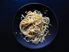 Spaghettini con aqua di limone takes basic ingredients–pasta, cheese, and lemons–and transforms them into something sublime.