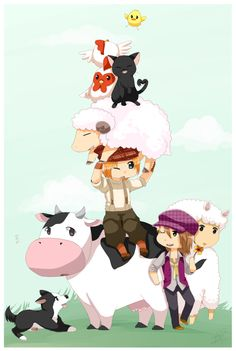 Harvest Moon: Tale Of Two Towns, Cam | ★ Harvest Moon