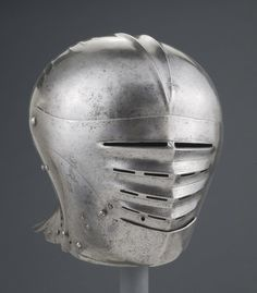 Philadelphia Museum of Art - Collections Object : Close Helmet Knights Helmet, Philadelphia Museum Of Art, 16th Century, Helmets, Renaissance, Armour, Medieval, German, Collections