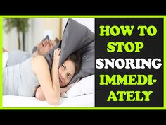 https://youtu.be/sTeU4_WdLsQ How To Stop Snoring Immediately And Permanently http://ift.tt/2kbcM09                      How To Stop Snoring Immediately And Permanently Helpful Tricks To Keep You From Snoring  Snoring while loud and annoying may be a great indicator of the current state of your health. That's right your snoring could be noisy for a reason. It's best to find out what causes it so that it can be properly treated in order for you to rest.   The tips below can help.  If you would…