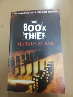 The Book Thief by Markus Zusak; read it as a part of the 2016 Reading Challenge (YA Bestseller)