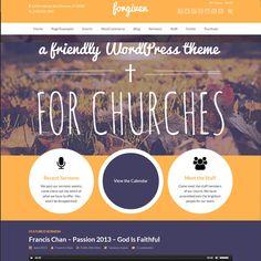 Forgiven WordPress Theme for Churches | Best WordPress Themes 2014