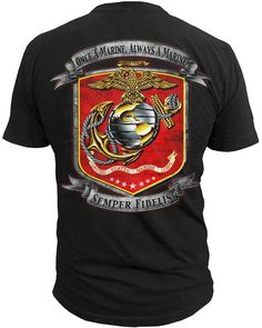 Black Ink Design has a large selection of American Pride clothing featuring logos of the US Army, Marines and much more. Check out our selection today! Us Army Clothing, Army Clothes, Pride Clothing, Men's Clothing, Marine Corps T Shirts, Us Marine Corps, Marine Corps Insignia, Once A Marine, Marine Mom