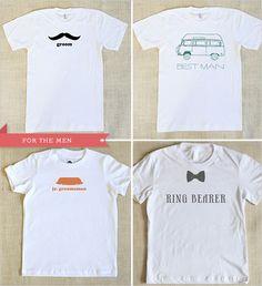 Wedding t shirts