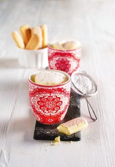 Käsekuchen-Mug-Cakes - Mug Cakes: Blitzschnelle Kuchen aus der Mikrowelle - gofeminin