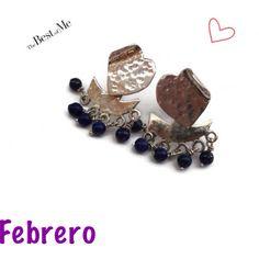 Bienvenido Febrero !! Todo con amor con accesorios Confetty Joyería/ aretes disponibles en http://www.muymuy.mx/confetty-joyeria-mexicana_151MuyMuy Mexicano