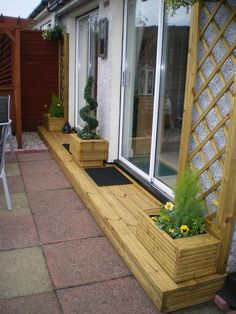 Cool & simple doorstep solutions for patio people...