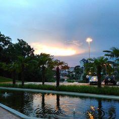 A Stéfani Camila Wassem fotografou a paisagem atrás da Biblioteca Univates. Lindo, lindo!
