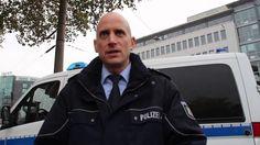Hogesa Demo und Gegendemos in Köln +OTon Polizei